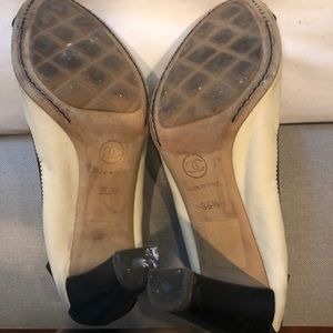 CHANEL Shoes - Chanel leather heels